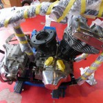 ショベリジのエンジン・・・