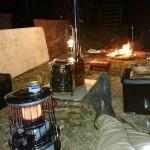 息抜きのキャンプ
