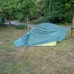 鹿野山 テント破損