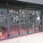 当店の入り口