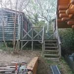 道具小屋の解体
